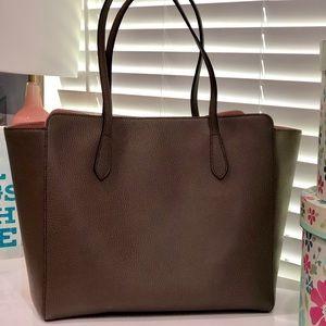 93174de6fb2c Gucci Bags | Authentic New Swing Medium Leather Tote | Poshmark